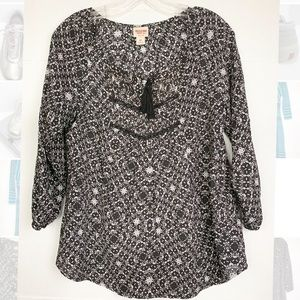 Mission supply co Blouse